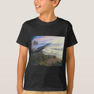 Live Fire at Kahuku by Jim Dietz T-Shirt