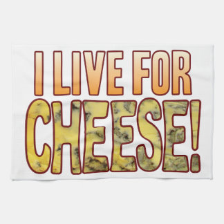 Live For Blue Cheese Kitchen Towel