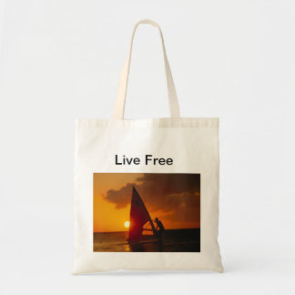 Live Free Canvas Bags