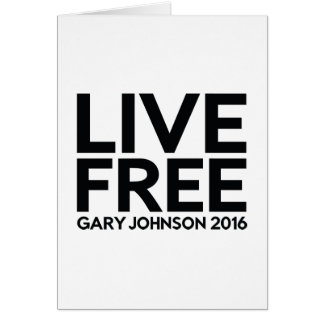 LIVE FREE CARD