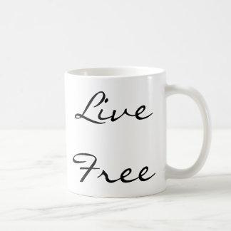 Live Free Coffee Mug