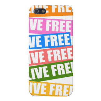 Live Free iPhone Case iPhone 5/5S Case