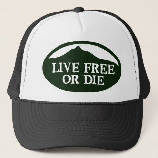 Live Free Monadnock Trucker Hat