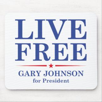 LIVE FREE MOUSE PAD