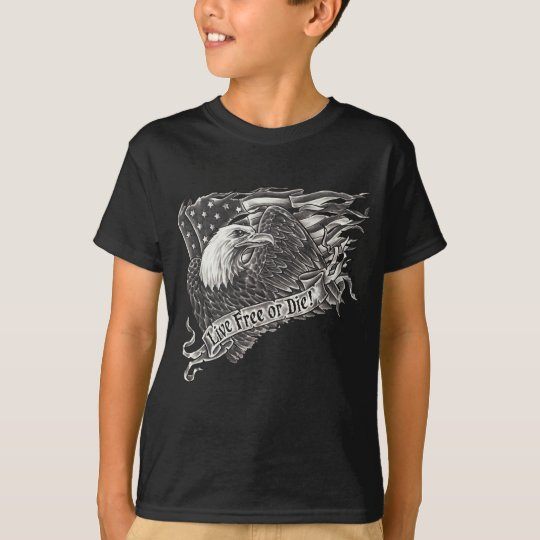 Live Free or Die Eagle T-Shirt