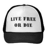 Live Free Or Die Hat