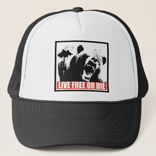 Live Free Or Die Trucker Hat