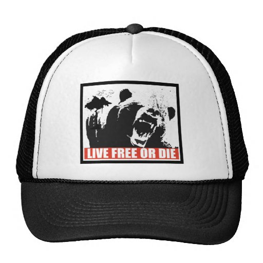 Live Free Or Die Trucker Hats