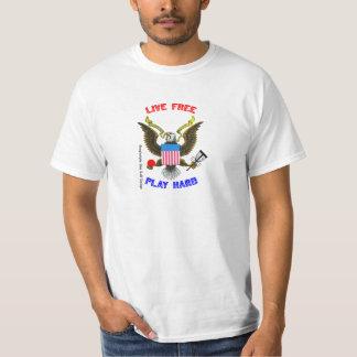 Live Free - Play Hard T-Shirt