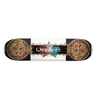 Live Free Skate Board Decks
