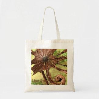 Live Green – Brown Leaf  – Budget Tote Bag  Yotigo