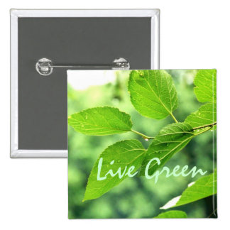 'Live Green' Button