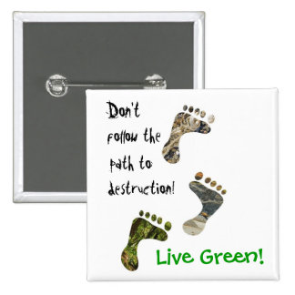 Live Green! button