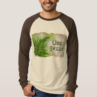 Live Green Eco Friendly Earth Day T-Shirt