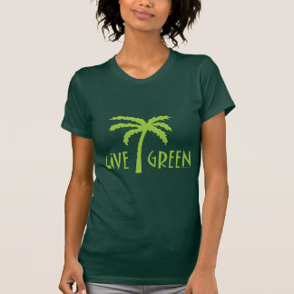 Live Green, Environmental T Shirt