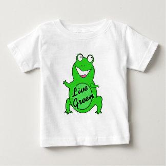 Live Green Froggie Baby T-Shirt