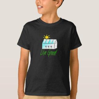 Live Green Greenhouse T-shirt