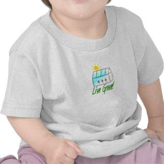 Live Green Greenhouse T-shirts