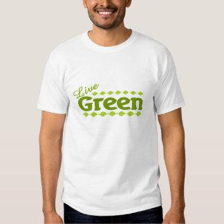 live green leaf t-shirt