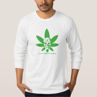 Live Green or Die T-Shirt - Solid Green