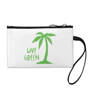 Live Green Palm Coin Wallet