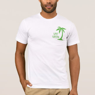 Live Green - Palm Tree T-Shirt