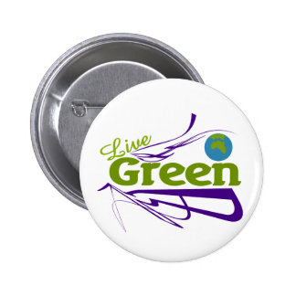 live green planet pins