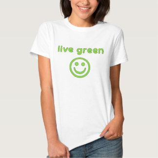 Live Green Pro Environment Eco Friendly Renewable Shirts