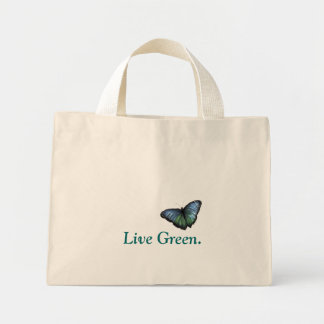 Live Green Tote Mini Tote Bag