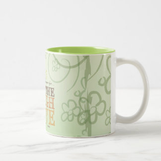 Live Happily Ever After Breathe Laugh Love Message Coffee Mug
