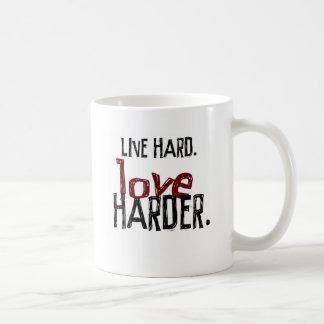 Live Hard Love Harder Coffee Mug (no URL)