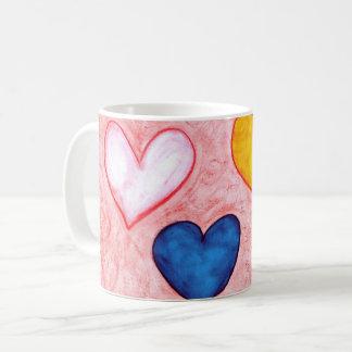 Live hearts coffee mug