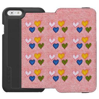 Live hearts incipio watson™ iPhone 6 wallet case