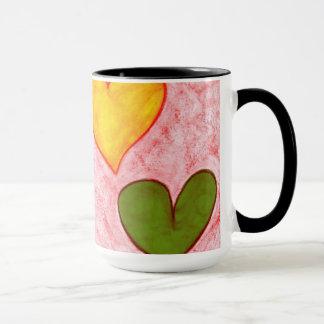 Live hearts mug