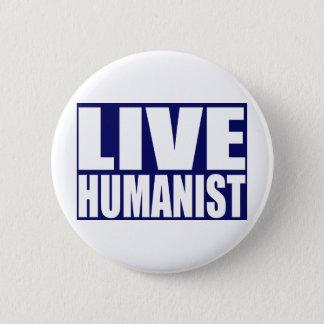 Live Humanist 2 Inch Round Button