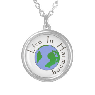 Live in Harmony - Planet Earth Necklace