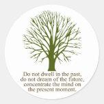 Live in the Present Moment Sticker
