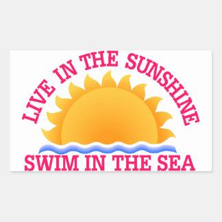 Live InThe Sunshine Sticker