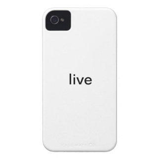 Live iPhone Case iPhone 4 Cases