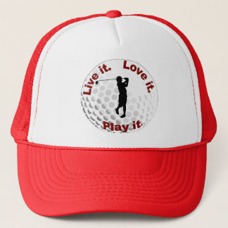 Live it. Love it. Play it. Trucker Hat
