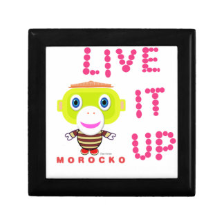 Live It Up-Cute Monkey-Morocko Gift Box