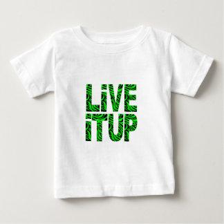 Live It Up Green Children's T-Shirt