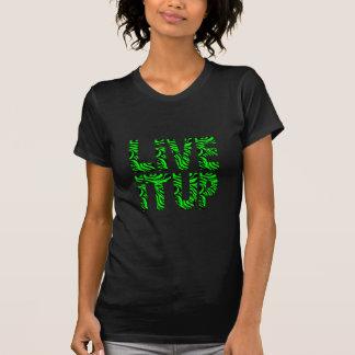 Live It Up Green Women's Dark T-Shirt