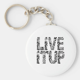 Live It Up Keychain
