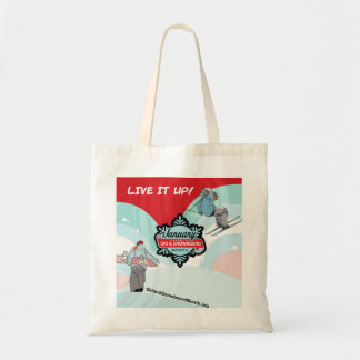 Live it Up this Winter Tote Bag