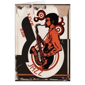 Live Jazz Card
