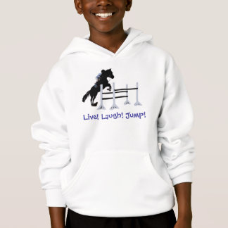 Live! Laugh! Jump! Horse Jumper