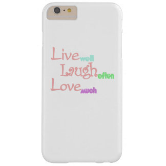 Live - Laugh - Love Barely There iPhone 6 Plus Case