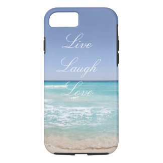 Live Laugh Love Beach iPhone 7 Case