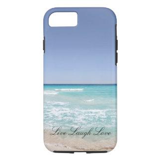 Live Laugh Love Beach Ocean Phone Case